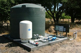 Samples Of Well Water Storage Tank Systems Gravel Products Services