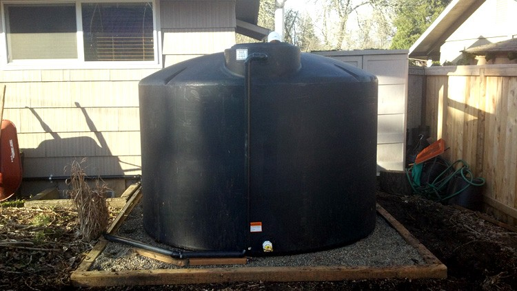 Samples Of Well Water Storage Tank Systems Gravel